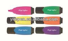 promotion flat highlighter pens