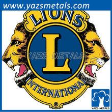 Custom Lions Clubs International badge car logo production