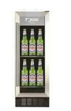 Interior Stainless Steel Beverage Back Bar for Professionals, Ventilated Cooling with 353L Capacity