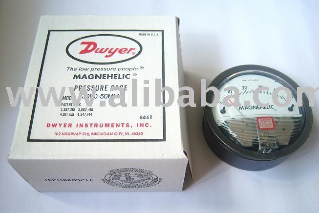 Dwyer Magnehelic indicador de presión