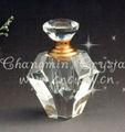Cristal botella de perfume, vidrio de botella de perfume para el hogar o la decoración del coche