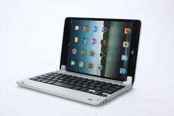 For Apple iPad Mini Aluminum Bluetooth 3.0 Wireless Keyboard Holder Case Cover