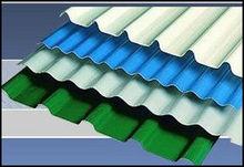 Clear Glass Fibre reinforced PVC Roof Tile