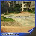 de alto grado de cerámica suelo gris rusty piedras jardín pavimentación de piedra laja