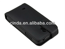 Shine real flip Leather Case cover for huawei u8825d ascend g330d