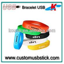 Top Sale Silicon Wrist USB Hard Disk