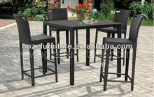 2012 Modern Wicker Patio Furniture/ Aluminum Metal Frame Patio Furniture