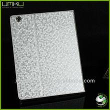 360 degree rotate case for ipad mini with diamond grain