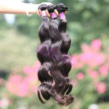 Tangle free no shedding tight weft unprocessed heathy virigin malaysian hair bundles body wave hair