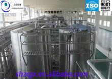 Zhongqing / envios 500LPH de pasteurización lácteos frescos proceso de producción / sus304, Sus306