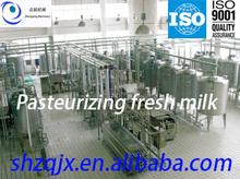 Zhongqing/500LPH Pasteurizing fresh Dairy making unit/SUS304,SUS306