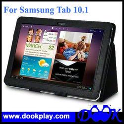 For Samsung Galaxy Tab 10.1 PU Leather Folio Stand Case