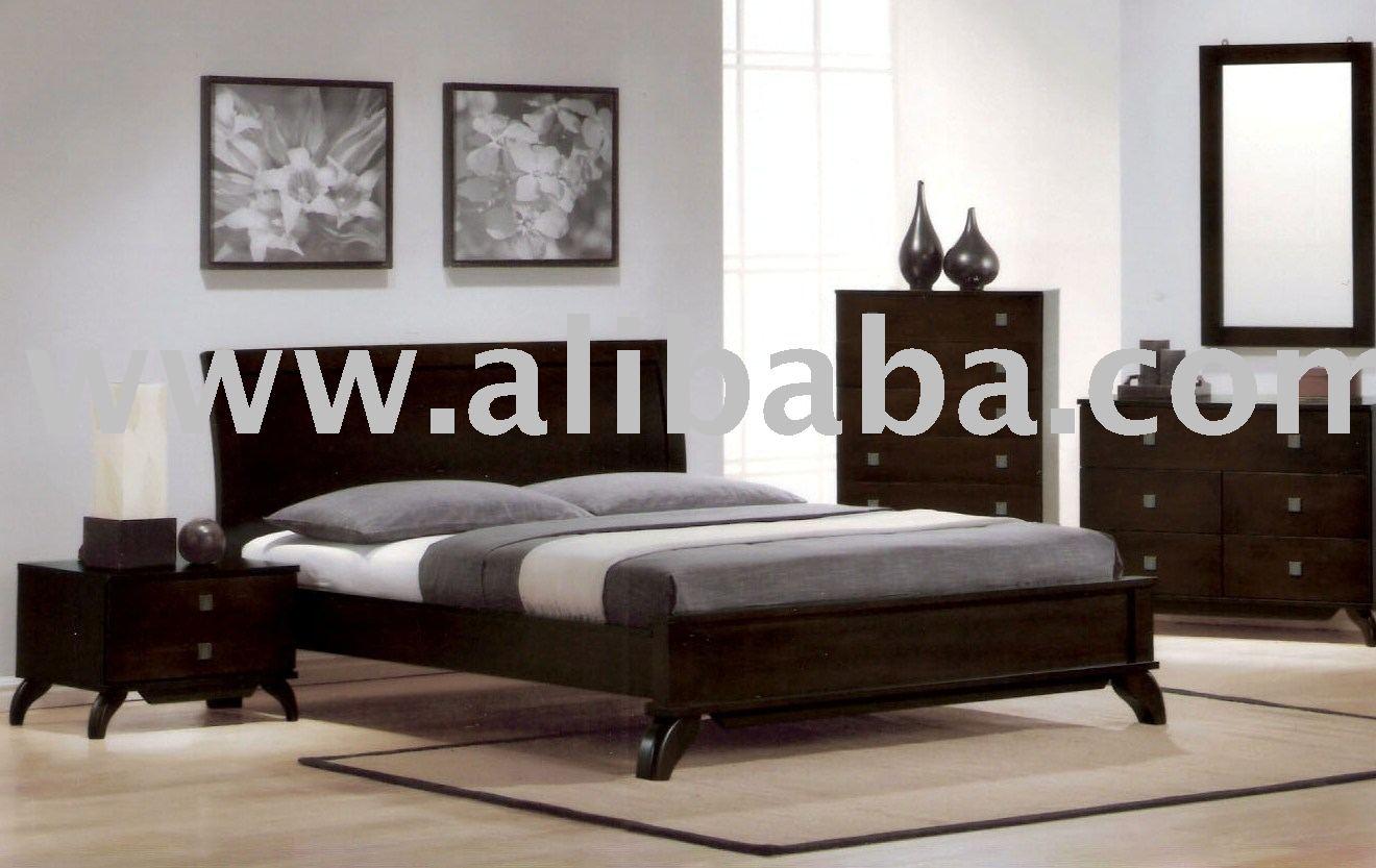 Meubles de chambre coucher meubles en bois de chambre for Set de chambre a coucher