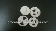 porous ceramic disc pinkish tan