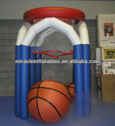 inflatable lawn basketball made in China M6022