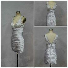 Real Sample Bling Bling V Neck Mini Length Ebay Dress 2015 ed286 Alibaba Evening Dresses From Dubai