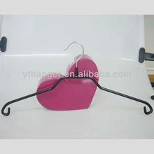 TMH-001 PVC coat metal clothes hanger PVC covering
