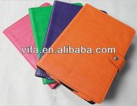 Hot sale fashion pu wallet for ipad mini