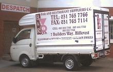 Company Vehicle Branding - Bar & Restaurant Suppliers