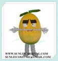 halloween kostüm großen augen Zitrone kostüm