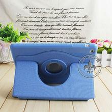 Soft Feel PC Stand Rotating PU Leather Case For Ipad Mini U3205-147