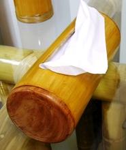 Bamboo Tissue holder