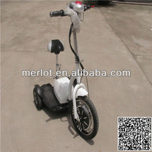 New product in 2013 3 wheeled battery motor powered scooter