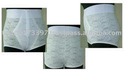 CP-005 High Waist Zipper Brief