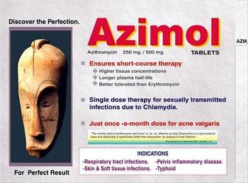 Azimol 500 antibiotic medicine agent
