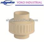 2014 Cheapest High quality cpvc fittings Pipe Fittings brass inserts for plastics CPVC ASTM D2846
