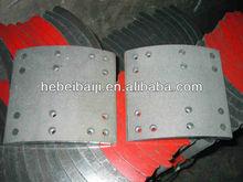 Non asbestos brake lining/truck brake lining/auto parts