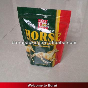 horse food bag with zipper