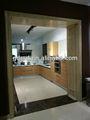 mogno madeira armários de cozinha