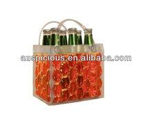 Suitable price six packs/six bottles wine ice bag