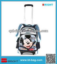 Boys school trolley bag
