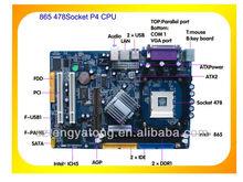 combo motherboard direct supplier msi 865 Socket LGA 478