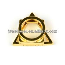 golden set 3 pieces femal club magic rings,RN-631