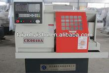 models of simple flat bed mini cnc lathe machine CK0640A