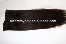 high quality human hair hair weaving clips