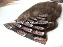 high quality human hair african butterfly hair clips