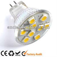 glass body led bulb mr16 12v
