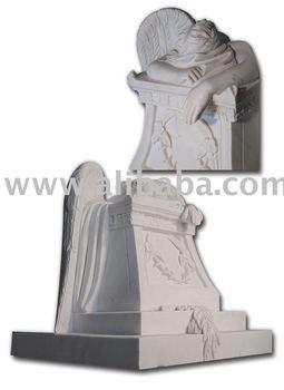 Marble Statue - Weeping Angel