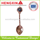 Souvenir metal spoon for promotion HX486