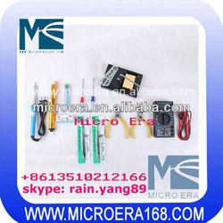 Tweezer soldering iron screwdriver Multimeter Combo Set 6-13 pieces Electronics DIY essential combination of tools
