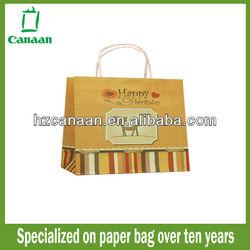 2015 best seller 3D paper bag