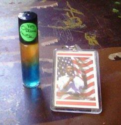 Obama Musk Fragrant Body Oil + Barack Obama Kechain