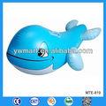 Balena gonfiabile di plastica, gonfiabile balena blu, gonfiabile balena blu pilota per i bambini