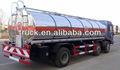 15000-30000l 6*4 dongfeng água transportador de caminhões, inoxidável de aço do caminhão para o transporte de leite