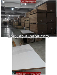 Glossy MDF use white glossy paint