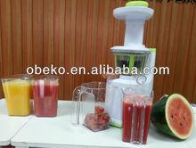 New design multifunctional slow masticating juicers